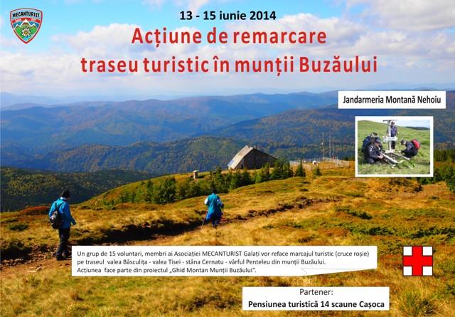 Mecanturist redeschide drumuri în munții Buzăului