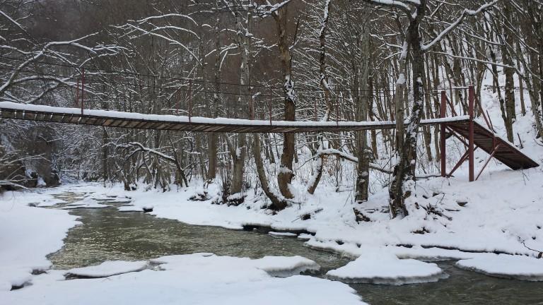 Cheile Vârghişului – Poveste în straie de iarnă