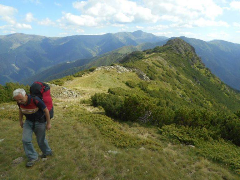 Munții Iezer și Făgăraș. În solitudine pe Culmea Mezea-Otic. 28-31 iulie 2017